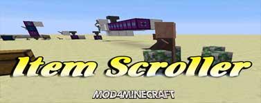 Item Scroller Mod 1.16.2/1.15.2/1.14.4