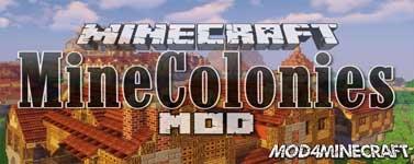 Minecolonies Mod 1.16.2/1.15.2/1.14.4/1.12.2