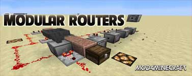 Modular Routers Mod 1.16.1/1.15.2/1.14.4