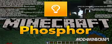 Phosphor (Forge) Mod 1.16.1/1.15.2