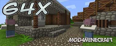 SilverMines [64x] [1.8] Resource Pack 1.8.6/1.7.10