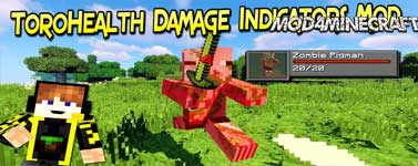 ToroHealth Damage Indicators Mod 1.16.4/1.15.2/1.12.2