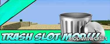 TrashSlot Mod 1.16.2/1.15.2/1.14.4