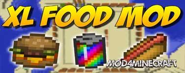 XL Food Mod 1.15.2/1.14.4/1.12.2