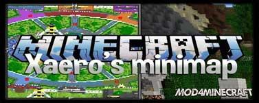 Xaero's Minimap Mod 1.16.2/1.15.2/1.14.4