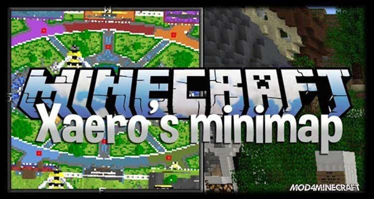 Xaero's Minimap Mod 1.16.1/1.15.2/1.14.4
