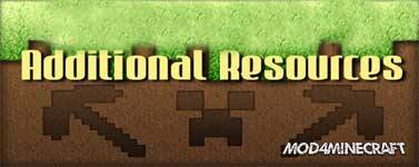 Additional Resources Mod 1.13.2/1.12.2