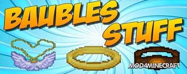 Baubles Stuff Mod 1.10.2/1.9.4/1.8.9