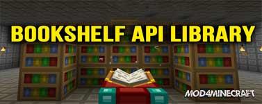 Bookshelf API Library Mod 1.11.2/1.10.2/1.9.4