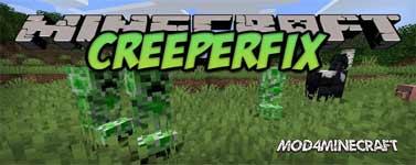 CreeperFix Mod 1.16.1/1.15.5/1.14.4