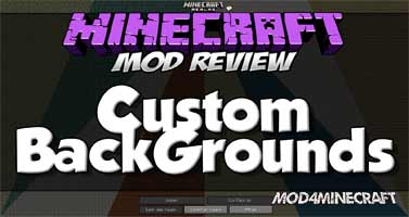 Custom Backgrounds Mod 1.13.2/1.12.2