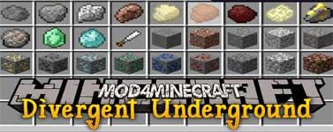 Divergent Underground Mod 1.12.2