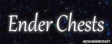 EnderChests Mod 1.16.2/1.15.2/1.14.4