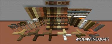 I Like Wood Mod 1.16.2/1.15.2/1.14.4