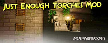 Just Enough Torches (JET) Mod 1.12.2