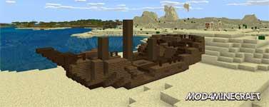Shipwrecks! Mod 1.12.2/1.11.2