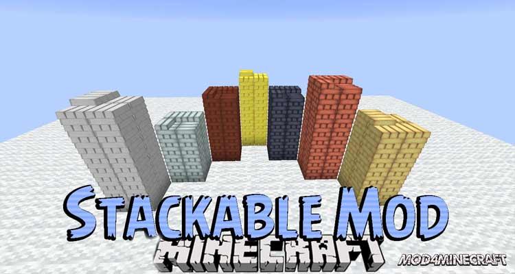 Stackable Mod 1.12.2
