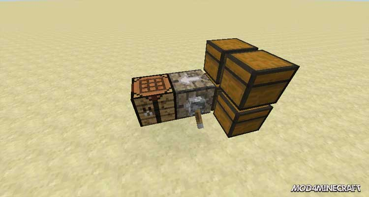 Structured Crafting Mod 1.15.2/1.14.4/1.12.2