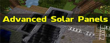 Advanced Solar Panels Mod 1.12.2/1.11.2/1.10.2