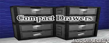 Compact Drawers Mod 1.12.2
