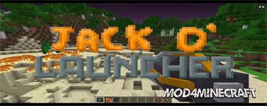 Jack-O'-Launcher Mod 1.14.4/1.13.2/1.12.2