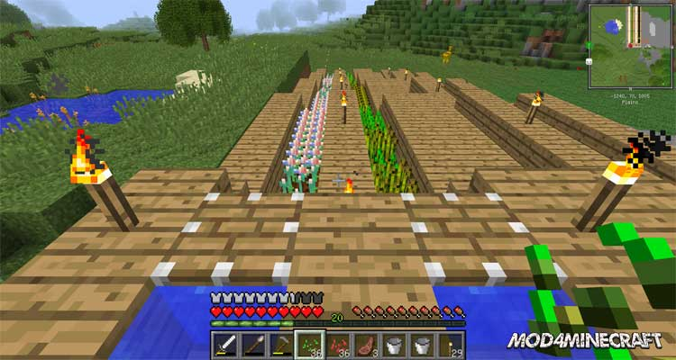 Magic seeds for Electroblobs Wizardry Mod 1.12.2