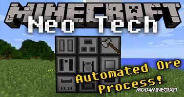NeoTech Mod 1.11.2/1.10.2/1.9.4/1.8.9