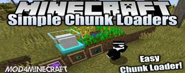 Simple Chunk Loaders Mod 1.15.2