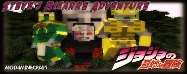 Steve's Bizarre Adventure Mod 1.12.2/1.7.10