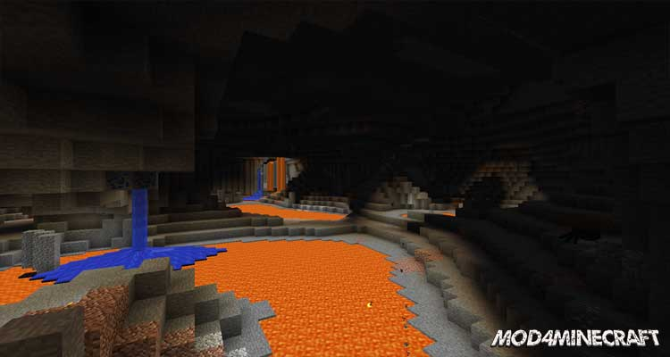 YUNG's Better Caves Mod 1.16.2/1.15.2/1.14.4