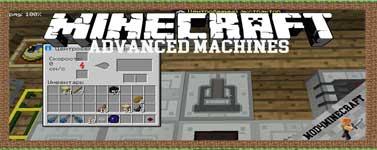 Advanced Machines Mod 1.12.2/1.10.2