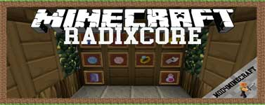 RadixCore Mod 1.12.2/1.10.2/1.7.10