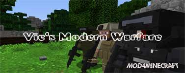 Vic's Modern Warfare Mod 1.12.2/1.10.2/1.7.10