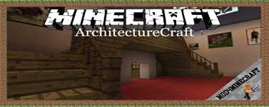 ArchitectureCraft Mod 1.10.2/1.8.9/1.7.10