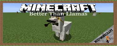 Better Than Llamas Mod 1.16.3/1.15.2/1.12.2