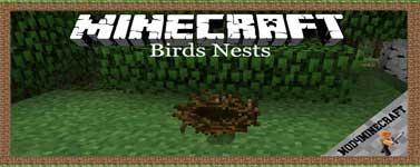 Birds Nests Mod 1.12.2/1.10.2/1.7.10