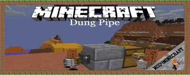 Dung Pipe Mod 1.12.2/1.11.2