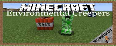 Environmental Creepers Mod 1.16.4/1.12.2/1.10.2