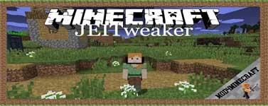 JEITweaker Mod 1.16.4/1.15.2/1.14.4