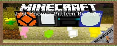 Just Enough Pattern Banners Mod 1.12.2/1.11.2/1.10.2