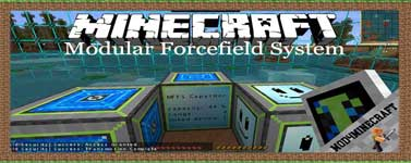 Modular Forcefield System Mod 1.12.2/1.10.2/1.7.10