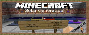 Solar Generation Mod 1.16.4/1.12.2/1.7.10