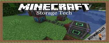 Storage Tech Mod 1.16.4/1.15.2/1.12.2