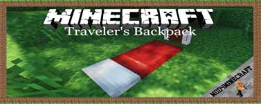 Traveler's Backpack Mod 1.16.2/1.15.2/1.14.4