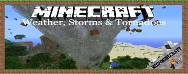 Weather, Storms & Tornadoes Mod 1.12.2/1.10.2/1.7.10