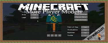 More Player Models Mod 1.14.4/1.12.2/1.7.10