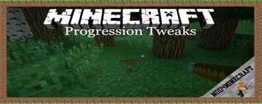 Progression Tweaks Mod 1.12.2