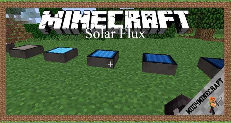 Solar Flux Mod 1.7.10