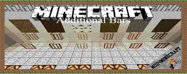 Additional Bars Forge Mod 1.17.1/1.16.5/1.15.2