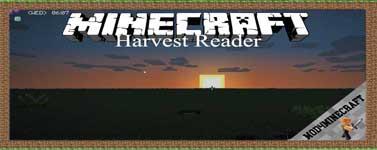Harvest Reader Mod 1.10.2